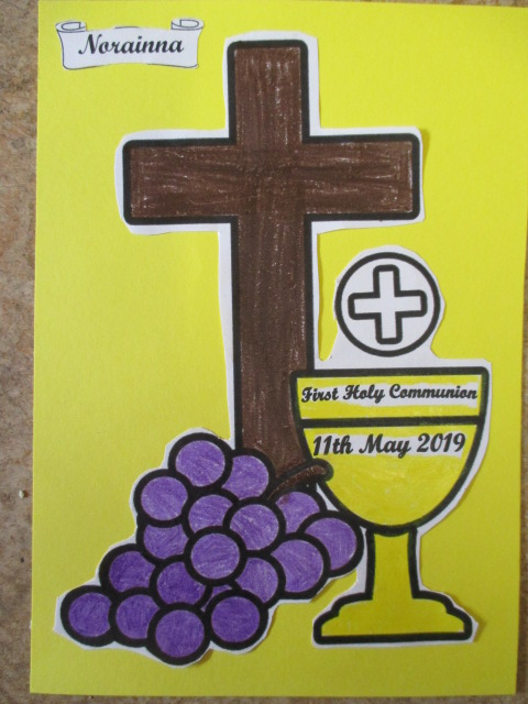 Notes About First Communion 11th May