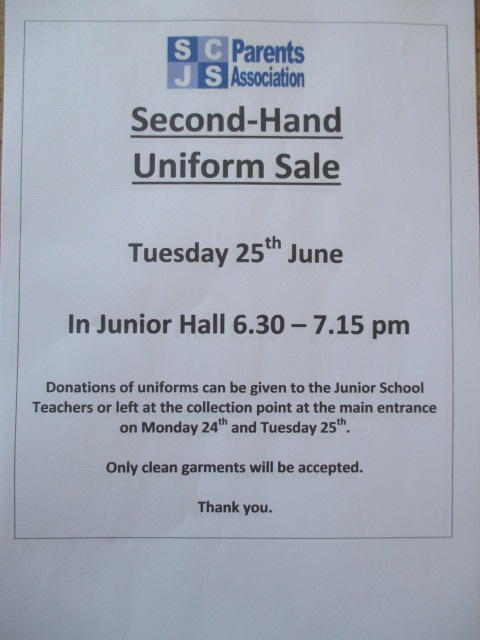 Uniform Sale