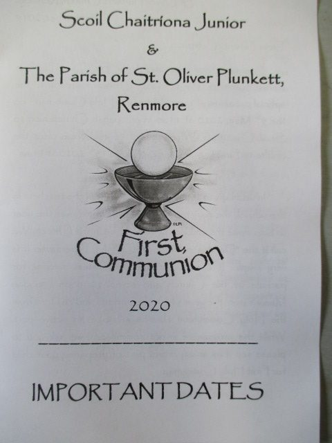 Information for Parents about First Communion