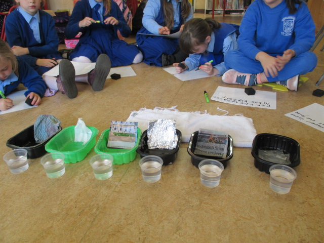 Checking for Absorbency