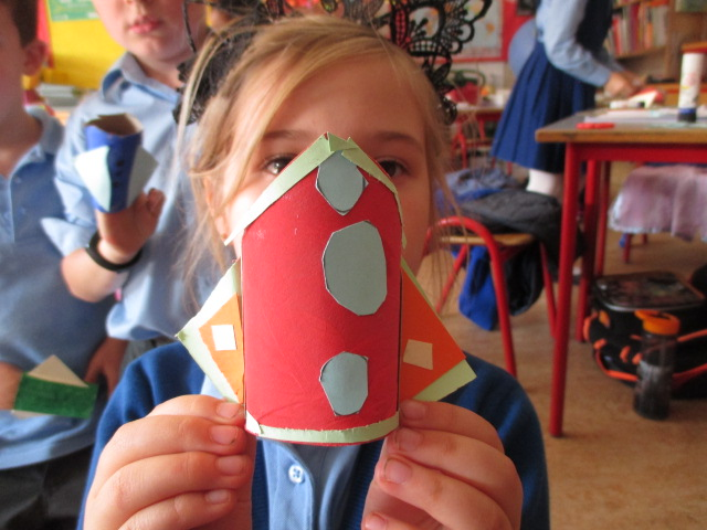 Making Toilet Roll Projectile Rockets