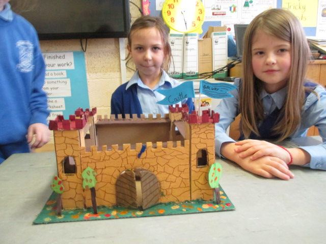 Castle Open Day in Ms. Cunningham's