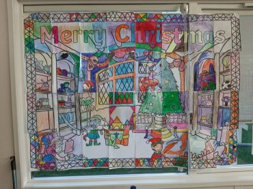 Christmas Art from Prefab 1B! Wishing everyone a happy Christmas.