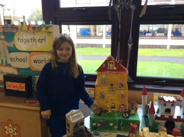 Our castle creations!