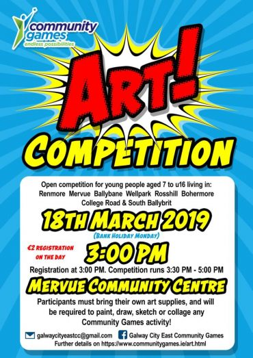 Community Games Art Competition