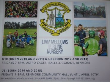 Note for Hurling and Camogie