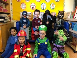 Happy Halloween from Junior Infants!