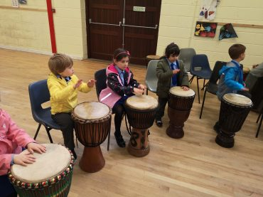 Drumming, Junior Infants