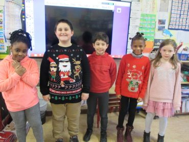 Christmas Jumpers in Room 9