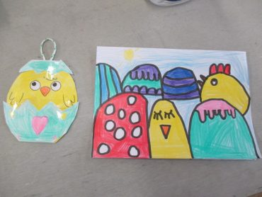 Our Lovely Easter Art
