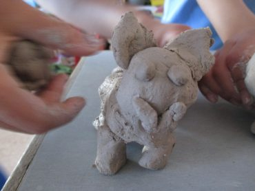 African Clay Animals