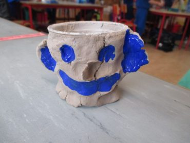 Clay Pencil Holders