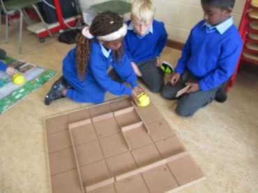 Coding with Bee Bots