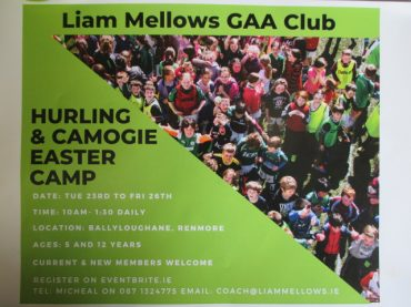 GAA Easter Camp