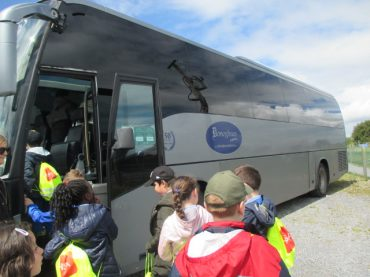 2nd Class Tour to Burren Nature Sanctuary