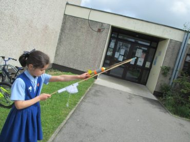 Foam Rocket/Projectile Challenge