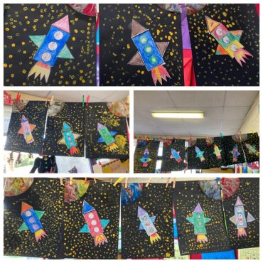 Space Week Rockets