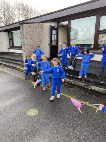 Kites for science week