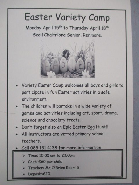 Easter Camp