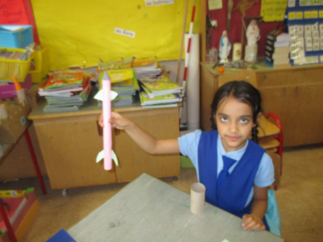 Making Air Projectiles (rockets)